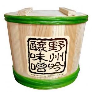 糀ざんまい 4kg 杉木樽